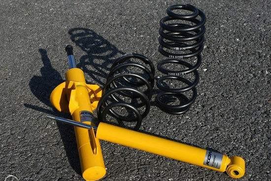 运动套装包含短弹簧和减震